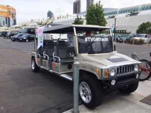 ACG Hummer Limo at Comic Con - 2015, San Diego.