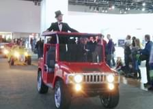 Abe in Parade riding ACG Hummer H3