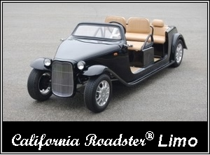 ACG California Roadster Limo Golf Cart