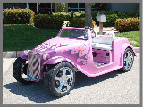 Pink California Roadster