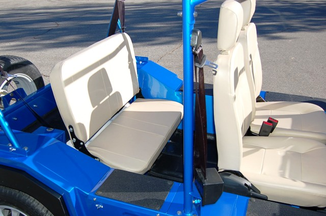 MOKE Rear Seat Back Rest UP