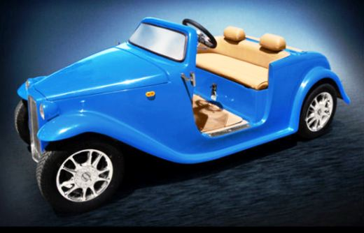 California Roadster NEV in Monterey Blue Color
